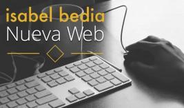 Isabel Bedia estrena nueva página web