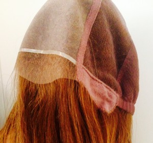 peluca cabello natural picada a mano