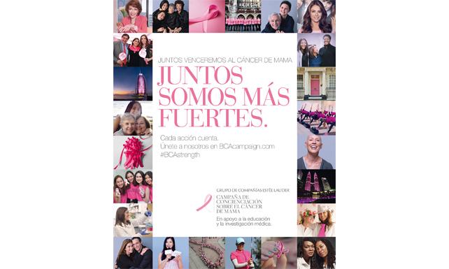 campaña publicidad cáncer de mama en Aveda