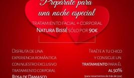 Regala belleza Natura Bissè por San Valentín