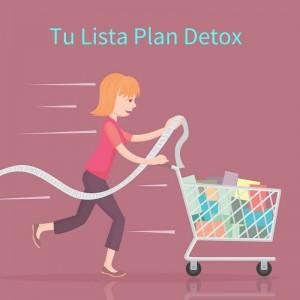 Lista Plan Detox