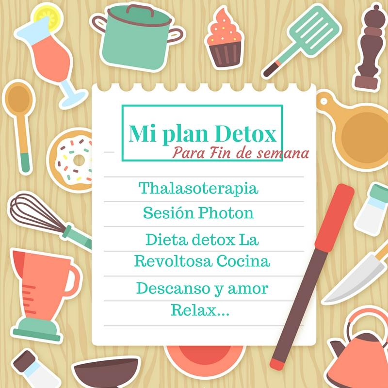 Plan Detox para primavera