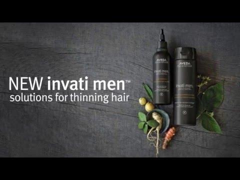 Nueva línea anti caída Aveda Invati Men™
