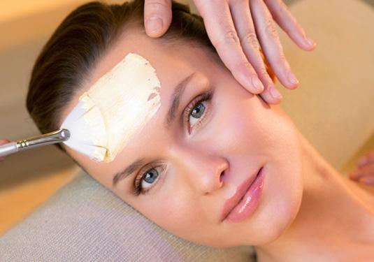 tratamiento facial y mascarilla