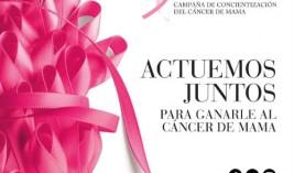 Concienciación cáncer de mama en Isabel Bedia