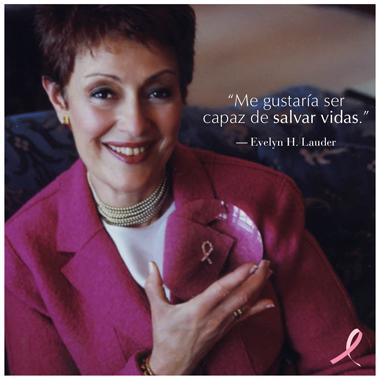 everly. h-lauder campaña cancer mama