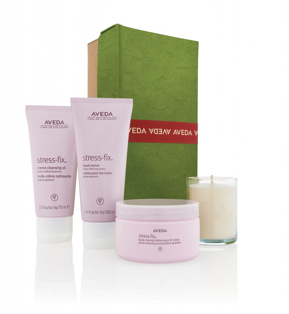 cofre navidad An Escape from Stress is a Gift de Aveda