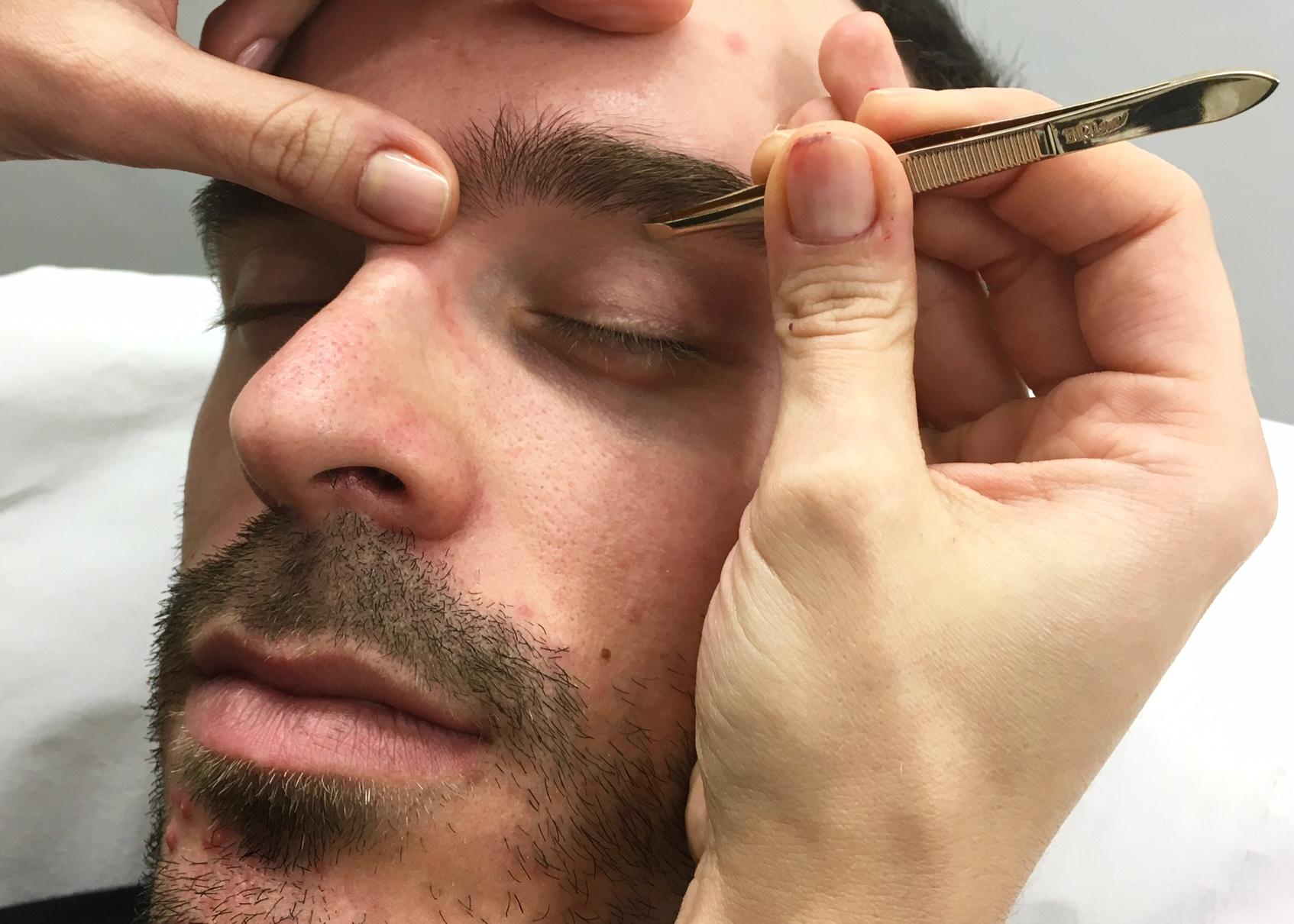 Cejas De Hombre diseño cejas para hombre - isabel bedia alicante
