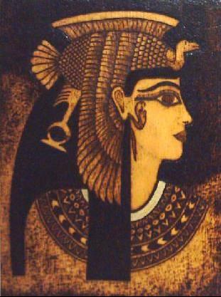 Esteli de flequillo de Cleopatra