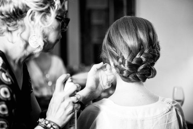 peinado novia y prueba