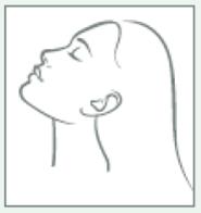 yoga facial saludos con barbilla