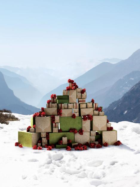Navidad aveda 2017 en isabel Bedia