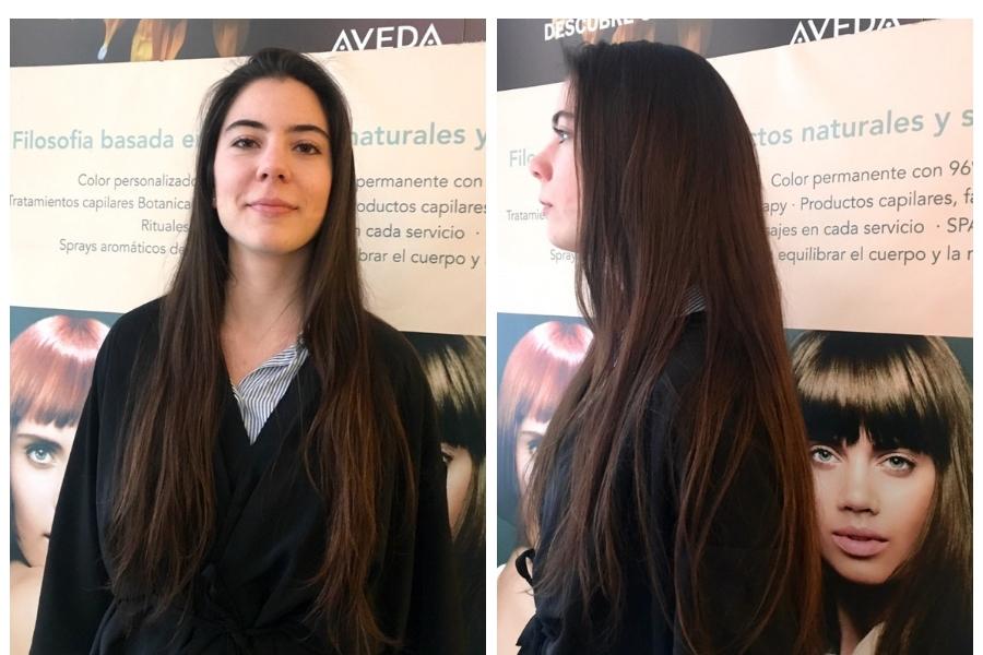 Cambio Imagen cabello largo y fino