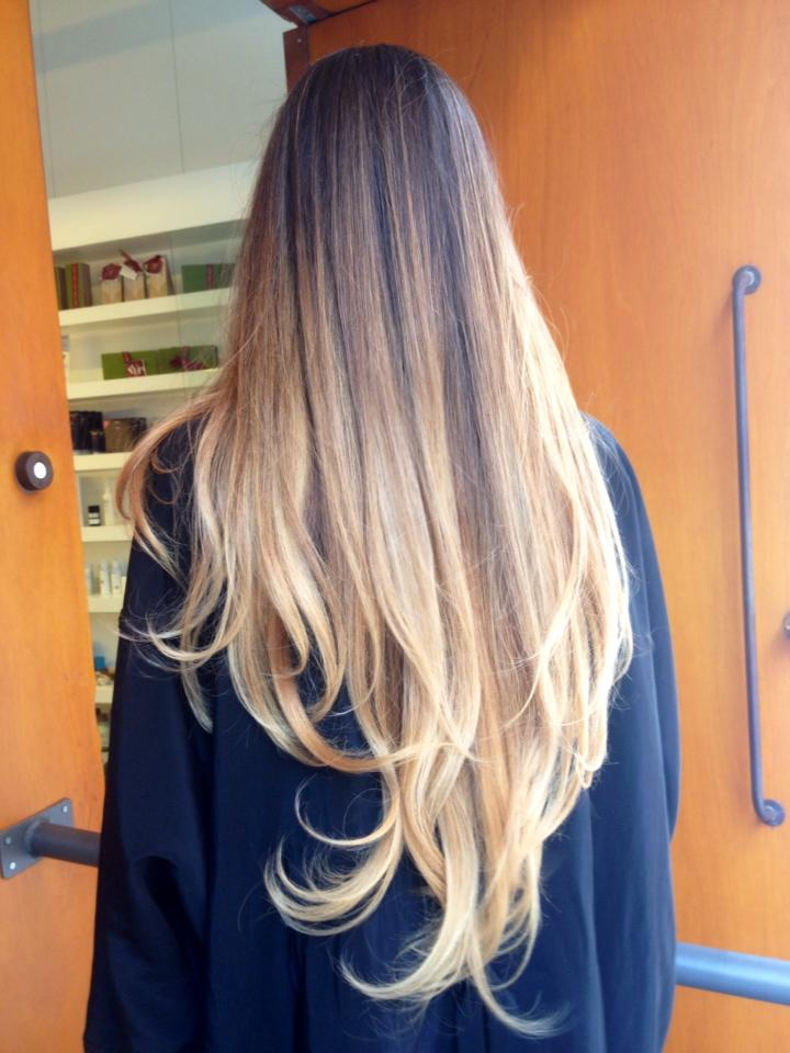mechas californiana Maria