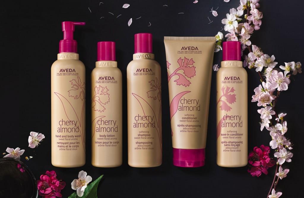 cherry almond linea completa