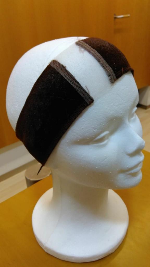 Banda de sujecion para pelucas