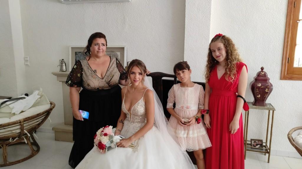 peinado y maquillaje familia novia